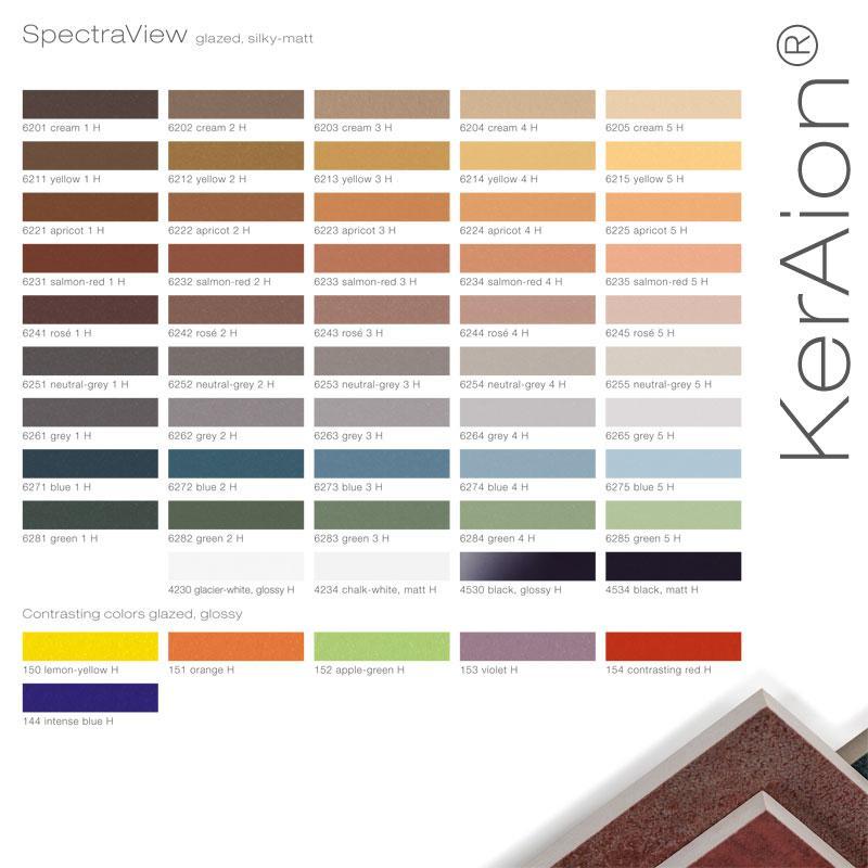 Ceramic Facade Systems - KLAY Tiles & Facades - CFS-Swatches-Keraion1