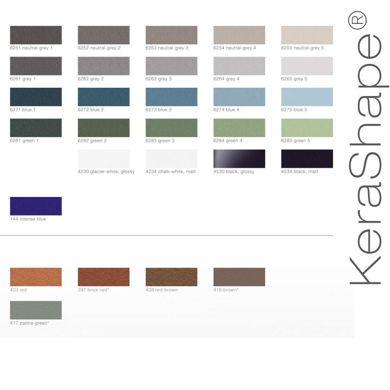 Ceramic Facade Systems - KLAY Tiles & Facades - CFS-Swatches-Kerashape2