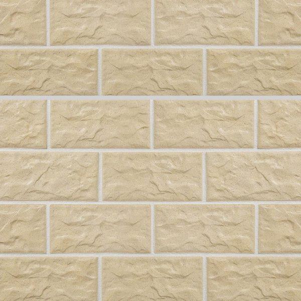 KLAY Tiles Facades - KLAY-Brickslips-KBS-SKB-2014-Saffron-Stone