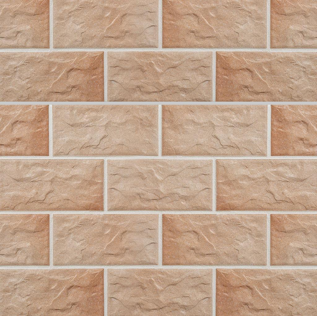 KLAY Tiles Facades - KLAY-Brickslips-KBS-SKB-2015-Rock-Rose