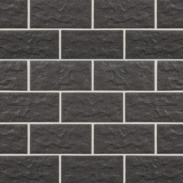 KLAY Tiles Facades - KLAY-Brickslips-KBS-SKB-2016-Anthracite-Stone