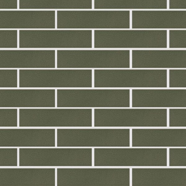 KLAY Tiles Facades - KLAY-Tiles-Agrob-Craft-9020-olive-green-flamed