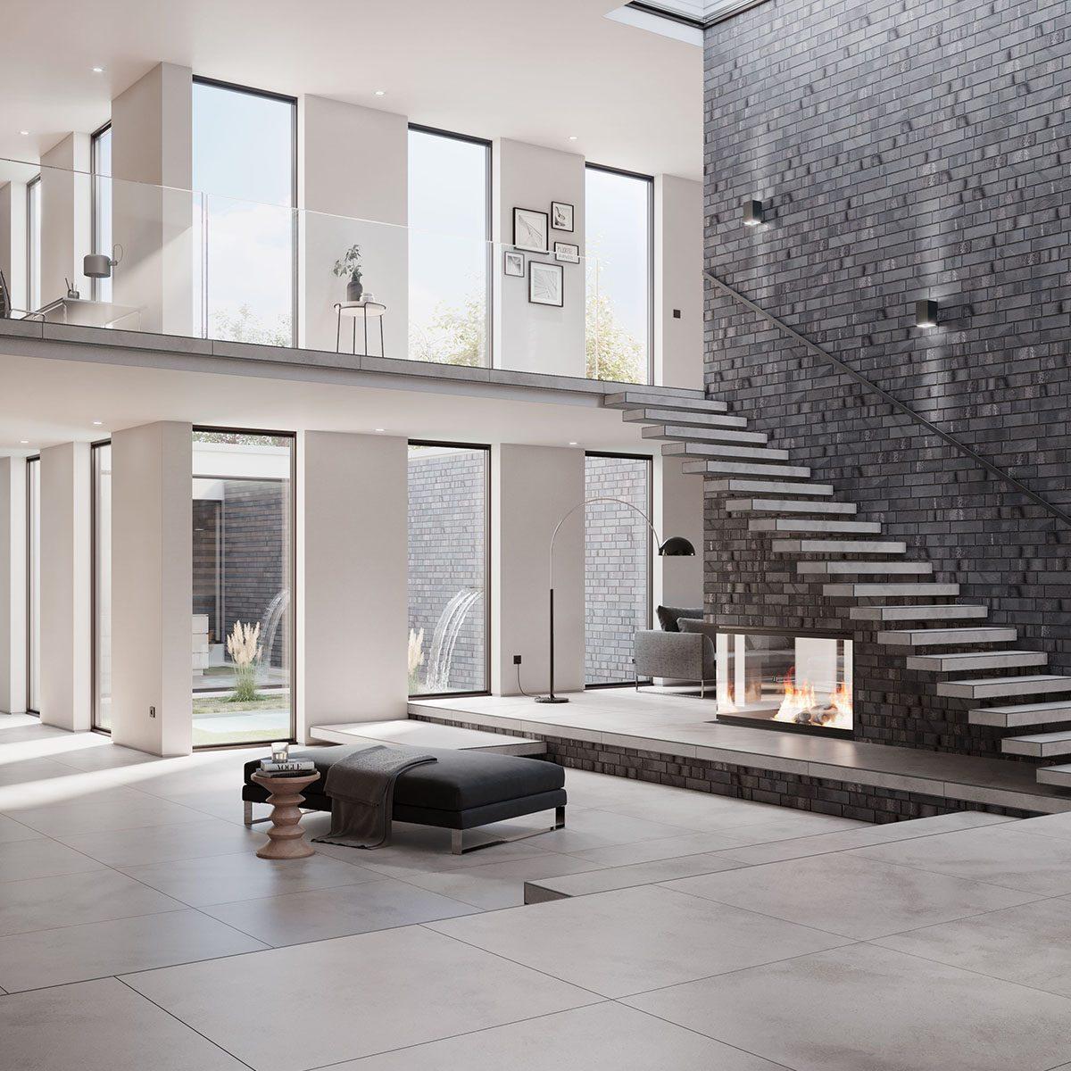 KLAY Tiles Facades - KLAY_KBS-SBR-2109-Ashen-Grey-2