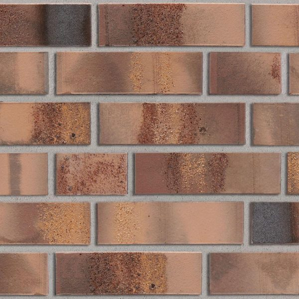 KLAY Tiles Facades - KLAY_KBS-SBR-2111-Copper-Red