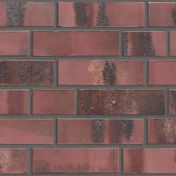 KLAY Tiles Facades - KLAY_KBS-SBR-2113-Amethyst-Red