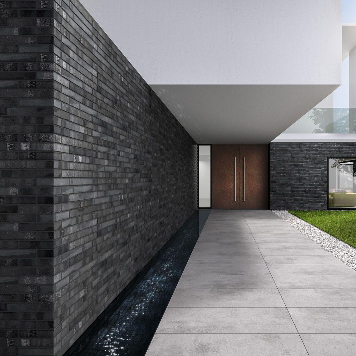 KLAY Tiles Facades - KLAY_SBR-2105_IronBlack-3